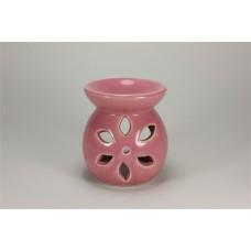 Εξατμιστής κεραμικός Αιθερίων ελαίων Ροζ-λουλούδι