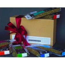 Δώρο με οκτώ (8) τσάγια βοτάνων σε οικολογικό κουτί kraft