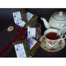 Δώρο πέντε (5) τσάγια βοτάνων σε κασετίνα με ακουαρέλα